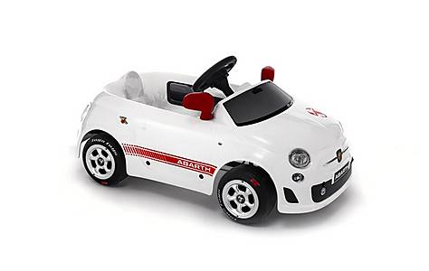 image of Abarth Nuova 500 White Pedal Car