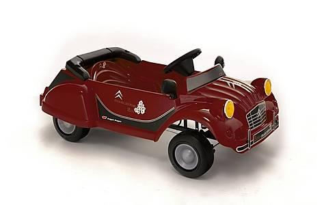 image of Charleston 2cv Red Metallic Pedal Car