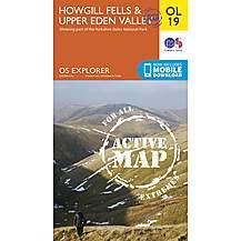 image of Os Explorer Active - 19 - Howgill Fells & Upper Eden Valley