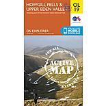 Os Explorer Active - 19 - Howgill Fells & Upper Eden Valley
