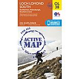 Os Explorer Active - 38 - Loch Lomond South