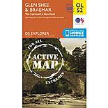 Os Explorer Active - 52 - Glen Shee & Braemar