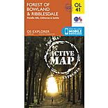 Os Explorer Active - 41 - Forest Of Bowland & Ribblesdale