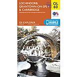 Os Explorer Active - 60 - Lochindorb, Grantown-on-spey & Carrbridge