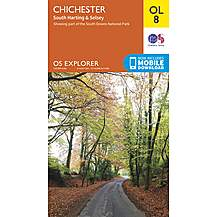 image of Os Explorer Leisure - Ol8 - Chichester, South Harting