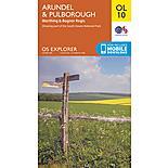 Os Explorer Leisure - Ol10 - Arundel & Pulborough