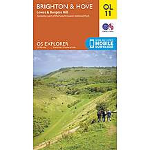 image of Os Explorer Leisure - Ol11 - Brighton & Hove