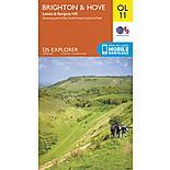 Os Explorer Leisure - Ol11 - Brighton & Hove
