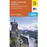 Os Explorer Leisure - Ol39 - Loch Lomond North