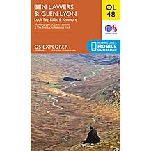 image of Os Explorer Leisure - Ol48 - Ben Lawers & Glen Lyon