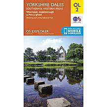 image of Os Explorer Leisure - Ol2 - Yorkshire Dales - Southern & Western