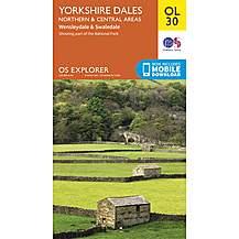 image of Os Explorer Leisure - Ol30 - Yorkshire Dales - Northern & Central