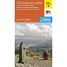 image of Os Explorer Leisure - Ol4 - The English Lakes - North Western