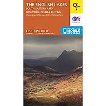 image of Os Explorer Leisure - Ol7 - The English Lakes - South Eastern