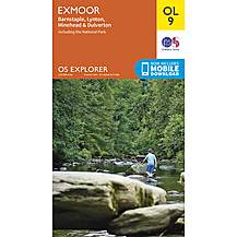 image of Os Explorer Leisure - Ol9 - Exmoor