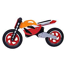 image of Kidzmotion Hondee Wooden Motorbike Balance Bike 2017 Design