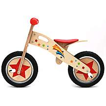 image of Kidzmotion pootle Wooden Balance Bike / First Bike / Running Bike