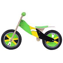 image of Kidzmotion 'sprinter' Wooden Balance Bike / First Bike / Running Bike