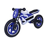 "image of Kidzmotion Yammy Wooden Motorbike Balance Bike 2017 Design - 12"" Wheel"