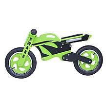 image of Kidzmotion Kwaka Wooden Motorbike Balance Bike 2017 Design