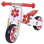 image of Petal Mini Wooden Balance Bike