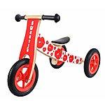 image of Kidzmotion 'sweetie' Wooden Balance Bike / Trike