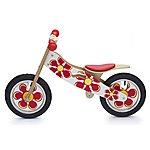 image of Kidzmotion sweet Pea Wooden Balance Bike / First Bike / Running Bike