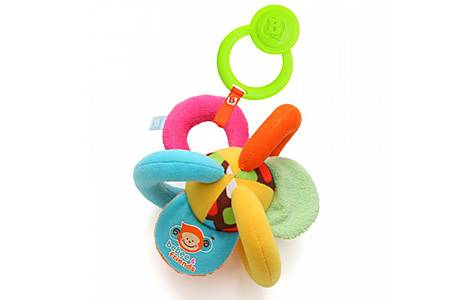 image of Bkids Giggle Grip Ball Baby Toy