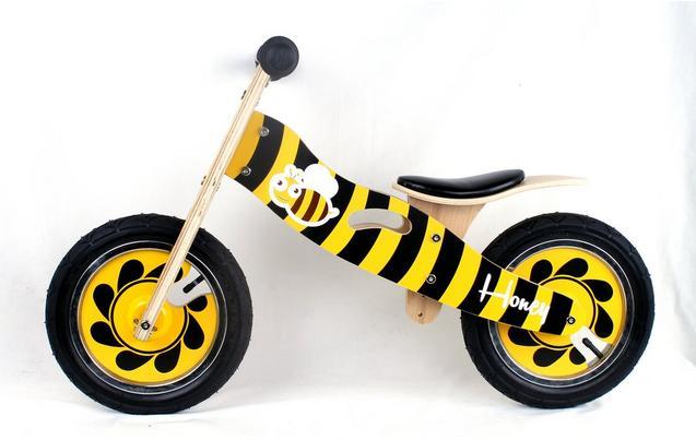 Kidzmotion Honey Wooden Balance Bik