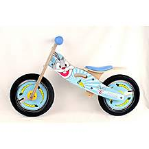 "image of Kidzmotion buck Wooden Balance Bike / First Bike / Running Bike - 11"" Frame"
