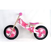 "image of Kidzmotion candy Wooden Balance Bike / First Bike / Running Bike - 11"" Frame"