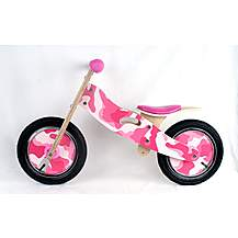 image of Kidzmotion candy Wooden Balance Bike / First Bike / Running Bike