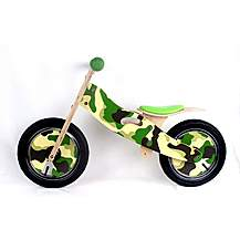 "image of Kidzmotion cadet Wooden Balance Bike / First Bike / Running Bike - 12"" Frame"
