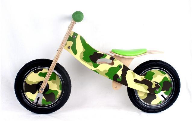 Kidzmotion Cadet Wooden Balance Bik