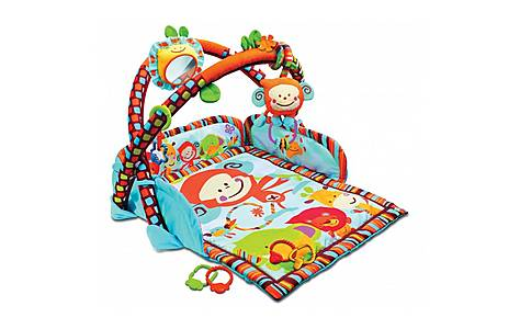 image of Bkids Play With Me Gym Baby Toy