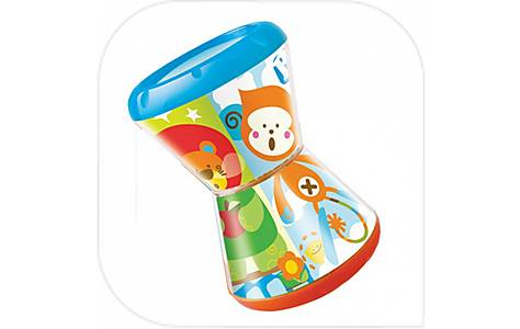 image of Bkids Twistn Smile Baby Rattle