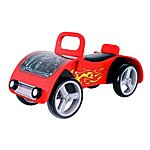 image of Kidzmotion fire Bug Wooden Sit On / Ride On Car