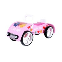 Kidzmotion love Bug Wooden Sit On / Ride On Car