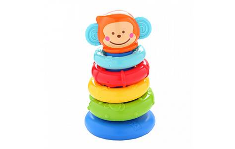 image of Bkids Stackn Link Pal Baby Toy