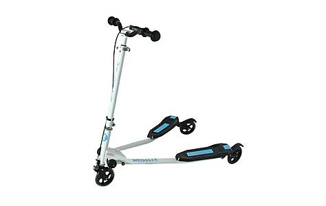 image of Kidzmotion Wriggler 3 Wheel Swing Scooter Speeder Drifter (age 5+) Blue