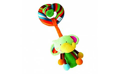 image of Bkids Loopn Link Pal - Fefe Baby Toy