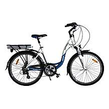 image of Batribike Diamond Pro Electric Bike Blue/white