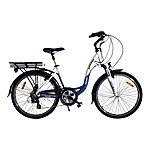 image of Batribike Diamond Pro Electric Bike Blue/white