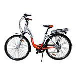 Batribike Diamond Pro Electric Bike Orange/white