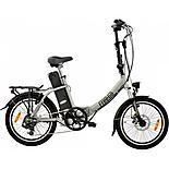 Freego Folding Electric Bike Silver 16aH