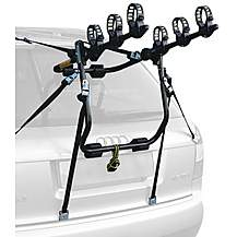 image of Peruzzo Verona 3 Bicycle Car Boot Fitting Bike Rack - Matt Black