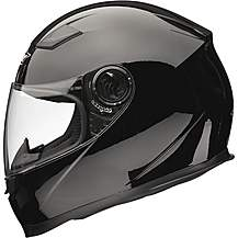 image of Shox Sniper Solid Motorcycle Helmet Xs Gloss Black