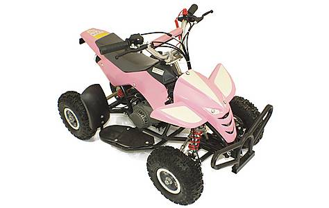 image of 50cc Street Assassin Mini Off-road Petrol Quad Bike, Pink