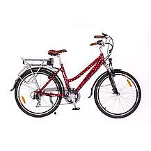 image of Roodog Polka Dot Red Electric Bike