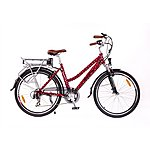 image of Roodog Polka Dot Red Electric Bike